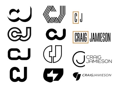 CJ Logo Concepts 2x concepts logo identity jamieson craigslist cj