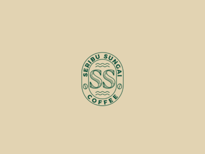 Seribu Sungai Coffee | Logo Design logo coffee minimalist
