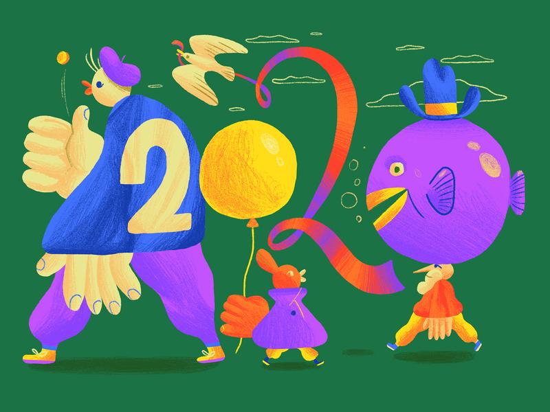 2020 illustration digital illustration digital art drawn random bright design editorial fun character design art direction colour color graphic illustration