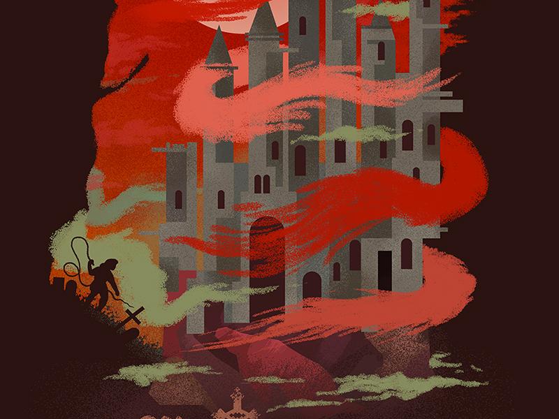 Castlevania by Scott Balmer on Dribbble