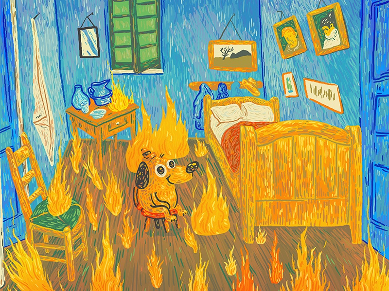 25 Best Memes About Fire This Is Fine Fire This Is Fine Memes