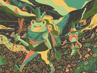 Adventurous Mr. Frog