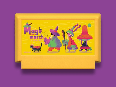 Mage March - Famicase Art Show