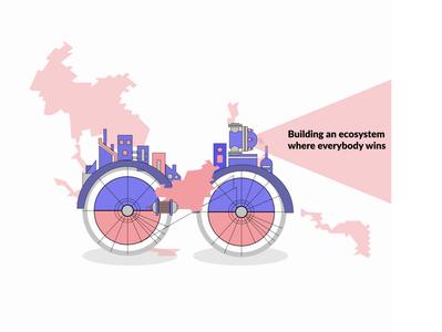 What Drives Us figmadesign vectorart branding website illustration website concept webdesigns website design uidesign illustration art branding concept illustration