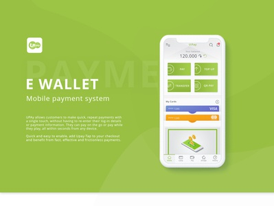E wallet- Payment System onlimnepay payment ewallet application logo minimal icon ux ui design app