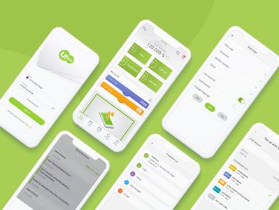 Ewallet Payment System ewallet application branding minimal ux ui app design