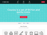 coucouicons.com (set of 64 icons)