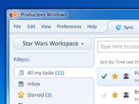 Producteev Windows Application