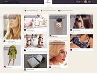 Website related to beauty products