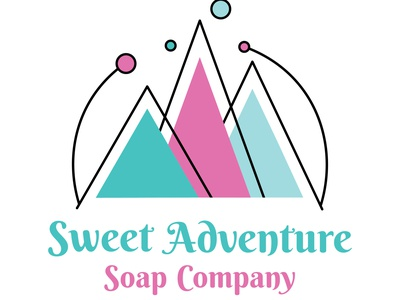 Sweet Adventure Soap Company Logo logo vector illustration vector art flat vector design colorful illustration logo concept soap company soap logo soap