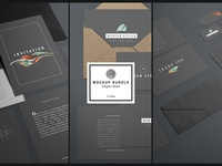 Elegant Black Mockup Bundle
