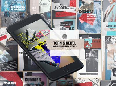 Torn&Rebeb Instagram Stories