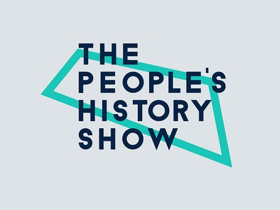 The People's History Show Logo | Alternative