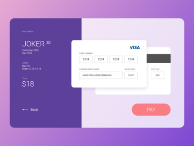 Credit Card Checkout [Daily UI - 002]