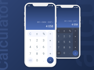 Calculator [Daily UI - 004]