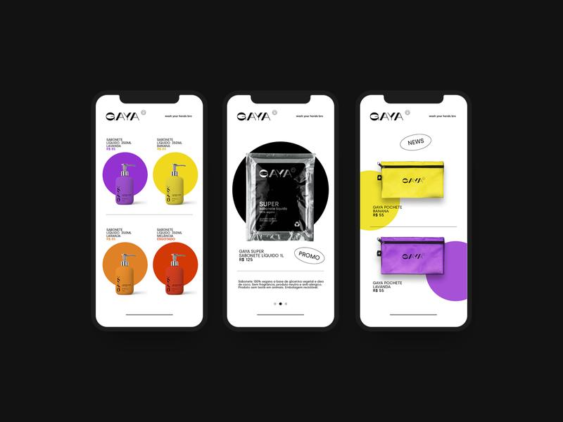 GAYA illustration design art direction branding branding design abstract packaging modern minimalist soapbox soap