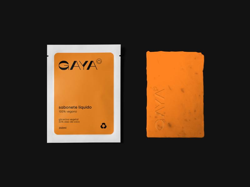 GAYA branding brand graphicdesign vector logo branding design abstract packaging modern minimalist