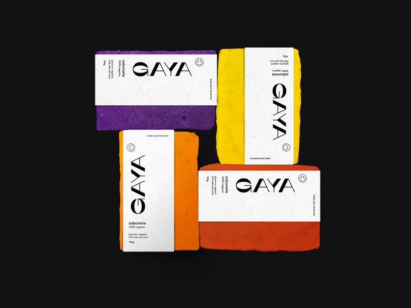 GAYA graphicdesign logo drink illustration art direction branding branding design abstract packaging modern