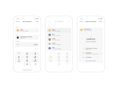 Crypto Wallet – Pay any crypto with any crypto