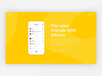 Pine website with new app demo