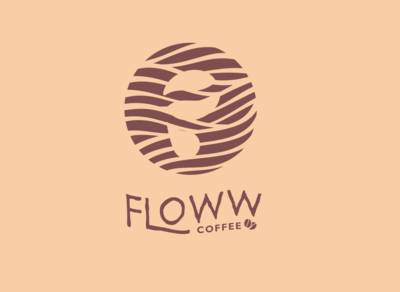 Floww Coffee logo concept