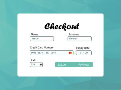 Checkout Design UI #002