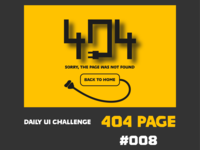 404 Page Ui #008