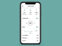 Home Monitoring Dashboard Ui #021