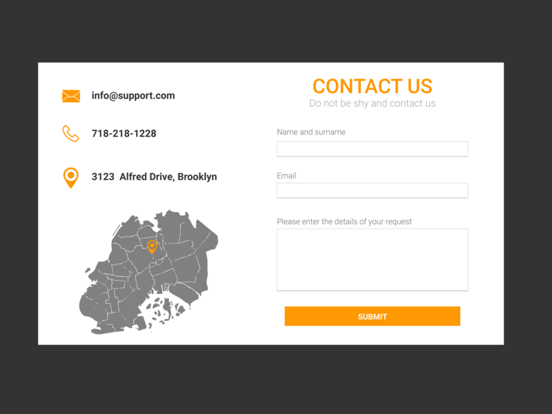 Contact Us Ui #028 028 form design dailyui028 day28 contact us contact form contact contact page vector daily 100 challenge typography ui  ux design ui100days ui100 ui newtodribbble new design dailyuichallenge dailyui