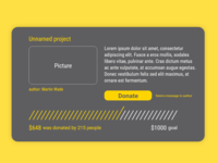 Crowdfunding Campaign Ui #032