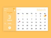 Calendar Ui #038