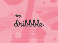 Hey, dribbble! Get vectorized with Vectornator!