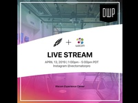 Dribbble MeetUp: Live Stream!