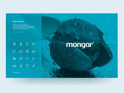 Mongar Higiene web design logo branding