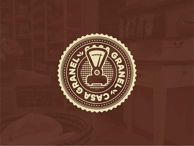 Casa Granel design branding logo