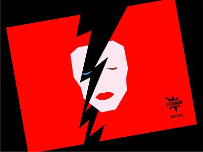 David Bowie design vector illustration