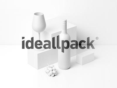 Ideallpack design logo branding