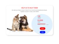 DailyUI #032 Crowdfunding Campaign