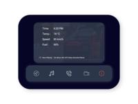 DailyUI #034 Car Interface