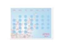 DailyUI #038 Calendar