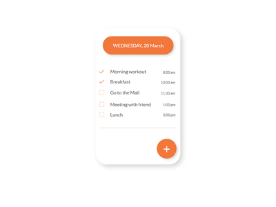 DailyUI #042 ToDo List web page reminders list ui list to do to do app to do list creative illustration daily challenge mobile app web mobile app adobe xd ui dribbble design dailyui daily 100 challenge
