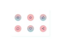 DailyUI #055 Icon Set