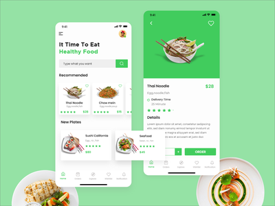 Food app Ui design ui design app food illustration food and drink single page food app uiux app design web kit minimal flat design adobe xd ux ui kits ui