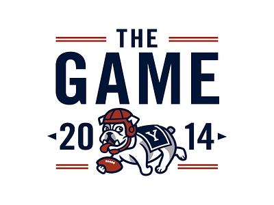 The Game '14 yale football bulldog harvard yale the game handsome dan sports t-shirt
