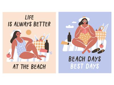 Beach days☀best days