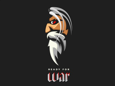 Ready For War ready for war war angryman man angry logo icon