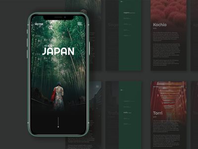 A app design to introduce about Japan_MEITRIP
