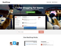 BeatStrap – Live-blogging for teams