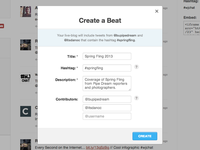 """Guided """"Create a Beat"""" modal"""