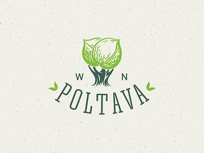 WN Poltava poltava mark logo agro agriculture growing walnut